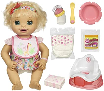 Amazon Com Baby Alive Learns To Potty Discontinued By Manufacturer Toys Games