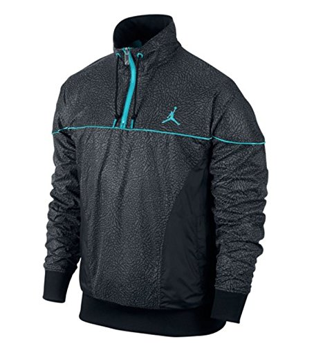 [585545-010] AIR JORDAN 5 LAB 3 HALF ZIP SWEATER APPAREL APPAREL AIR JORDANMULTI by NIKE