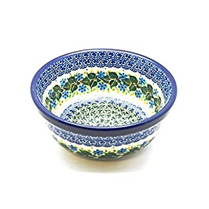 Polish Pottery Bowl – Soup and Salad – Ivy Trail