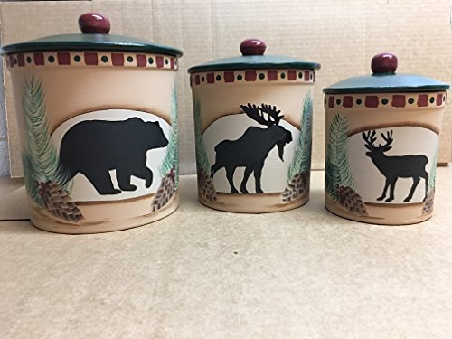 Bear Canister Set - 2