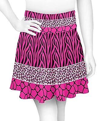 YouCustomizeIt Triple Animal Print Skater Skirt (Personalized)
