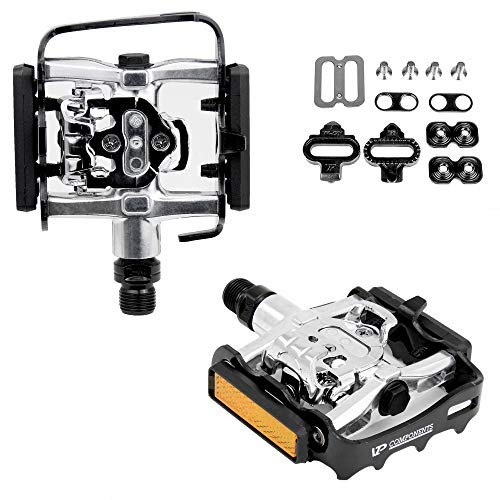 VP X82 Multi-Use Shimano SPD Type Mountain Bike Pedals ()