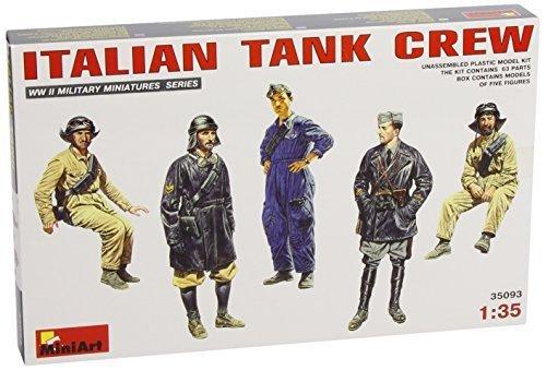 Crew Italian (Miniart 35093 Italian Tank Crew 1:35 Plastic Kit by Miniart)