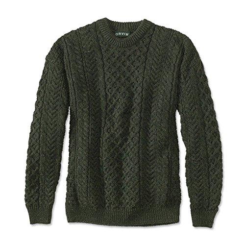 Orvis Black Sheep Irish Fisherman's Sweater