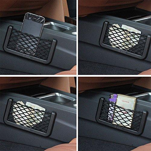 hot sale Chytaii Voiture Stockage Net Automobile Filet de Téléphone Mobile De Stockage du Véhicule de Filet Noir(20cm*8.5cm)