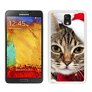 Individualization Christmas Cat White Samsung Galaxy Note 3 Case 5