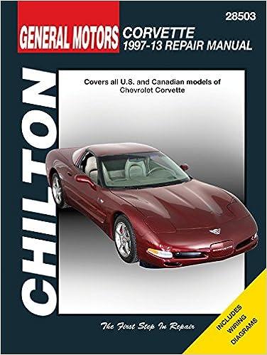 corvette 1997 2004 service repair manual