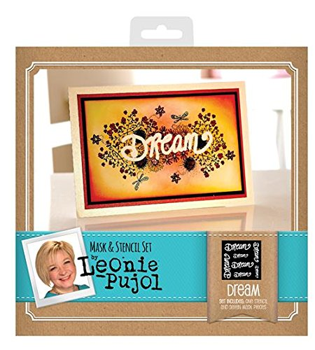 Leonie Pujol Masks and Stencils Dream, Clear Crafter's Companion LP-S&M-DRE