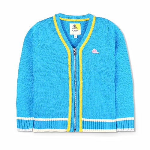 - Cherry Crumble Front-Zip Cardigan for Boys & Girls (9-12 Months)