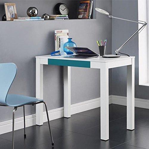 Ameriwood Home Parsons Desk with Drawer, Black