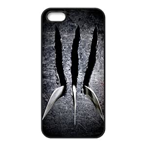 2015 customized Mystic Zone Marvel Super Hero X-Men Wolverine Case for iPhone 5 Cover TPU Material Fits Case WSQ1200