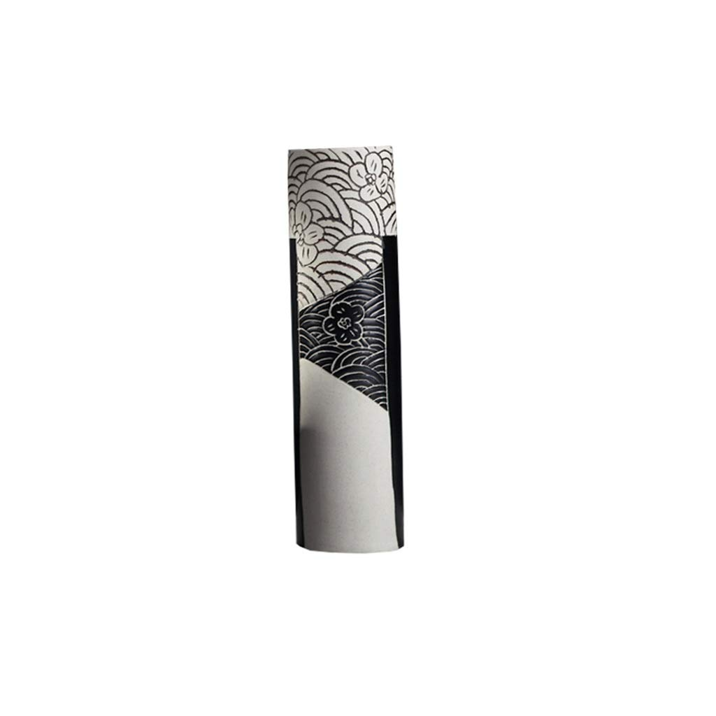 花瓶現代のミニマリストセラミックドライフラワーアレンジメントフラワーアレンジメント新しい中国の北欧のリビングルームテレビキャビネットキャビネットホームアクセサリー LQX (Size : L) B07RMVN6HW  Large