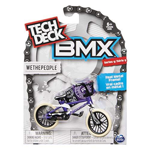 [해외]테크 데크 BMX 시리즈 9 WETHEPEOPLE 보라색 손가락 자전거-20103167 / Tech Deck BMX Series 9 WETHEPEOPLE Purple Finger Bike - 20103167