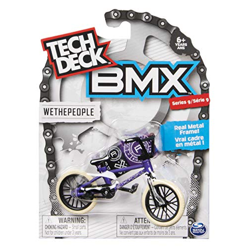 Tech Deck BMX Series 9 WETHEPEOPLE Purple Finger Bike - 20103167 by Tech Deck (Image #3)