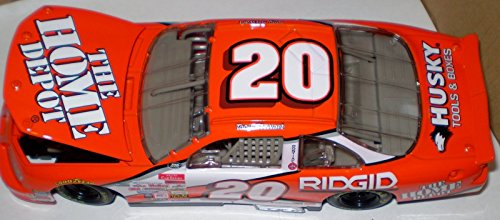 (1999 NASCAR Action Racing Collectibles . . . Tony Stewart #20 The Home Depot Pontiac Grand Prix 1/24 Diecast . . . Limited Edition)