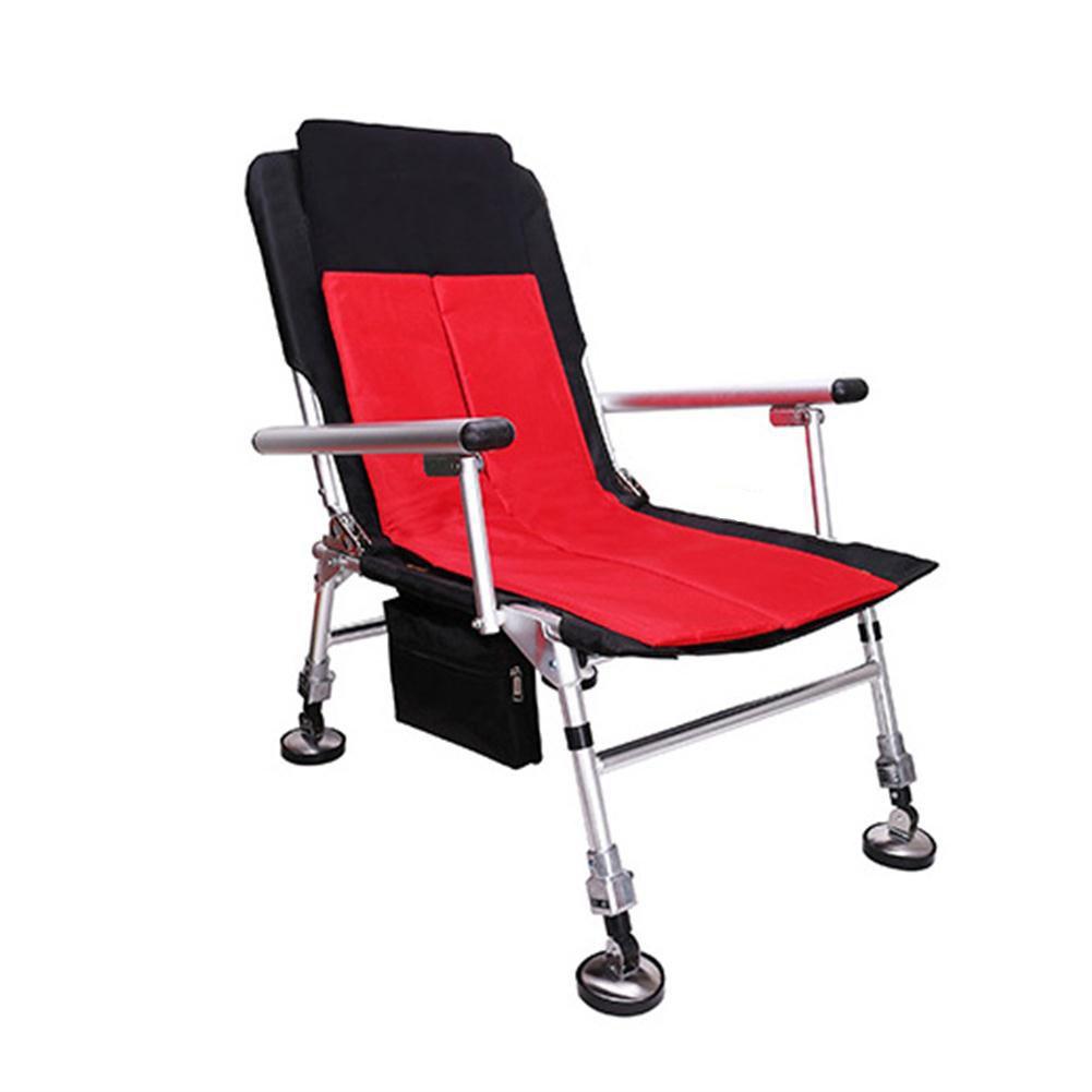 YJchairs Faltbare Stühle, Angeln Stuhl Mit Zubehör Ergonomische Tragbare Multifunktionale