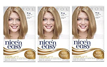 clairol nice n easy hair color 103 natural light neutral blonde 1 kit pack - Clairol Nice And Easy Colors