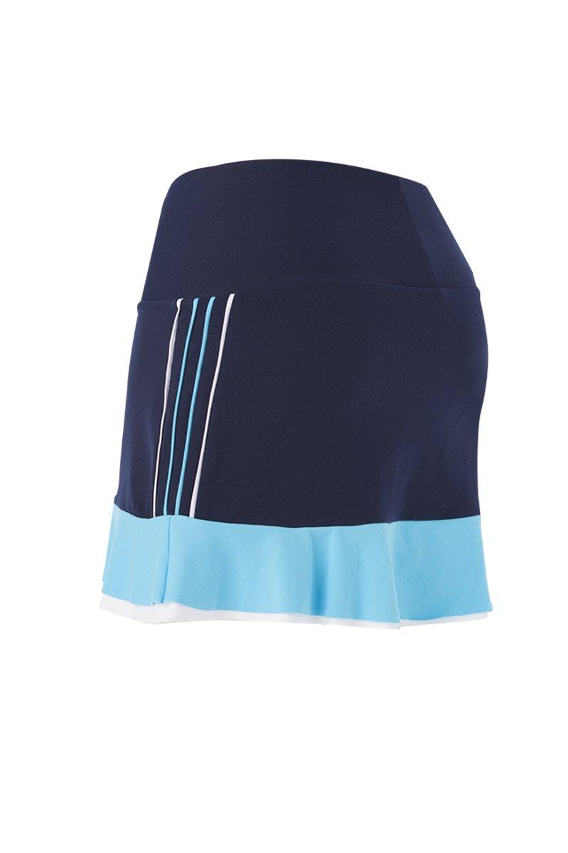 Naffta Tenis Padel - Falda-pantalón para mujer, color azul marino/turquesa, talla S: Amazon.es: Deportes y aire libre