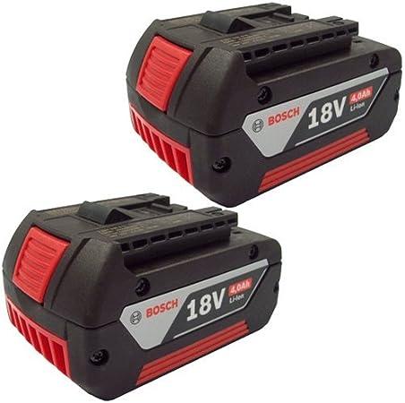 Bosch 2607336815 18v 4.0Ah Li-ion Slide Battery (Pack of 2) by Bosch: Amazon.es: Bricolaje y herramientas