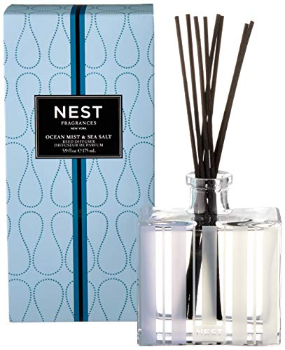 NEST Fragrances Reed Diffuser- Ocean Mist & Sea Salt