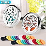 Best Aromatherapy Diffusers - 2 Pack Aromatherapy Car Diffuser Vent Clip 30mm Review