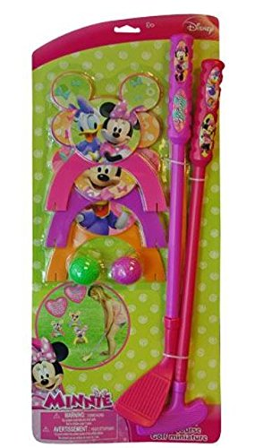 Minnie Mouse Golf Set on Card