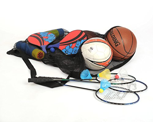 Review Mesh Ball Bag With