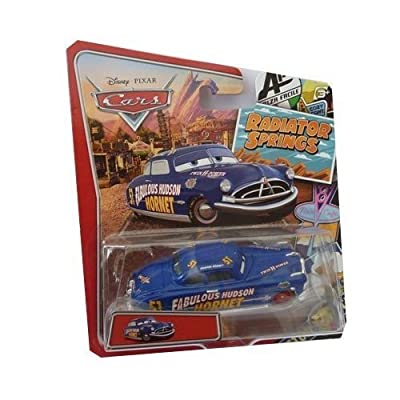 Disney/Pixar Cars, Radiator Springs Classic, Fabulous Hudson Hornet Exclusive Die-Cast Vehicle, 1:55 Scale: Toys & Games