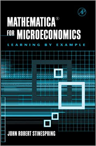 Mathematica for Microeconomics
