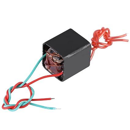 Miniature DC 3 6~6V to 20KV High Voltage Transformer Boost Step-up Inverter  Arc Pulse Generator Power Module Black