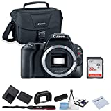 Canon EOS Rebel SL2 DSLR Camera (Body Only) + 32GB SanDisk Memory + Shoulder Bag + Camera Deluxe Starter Kit