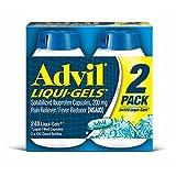 Advil Liqui-Gels, 2 pk./120 ct. (pack of 6)