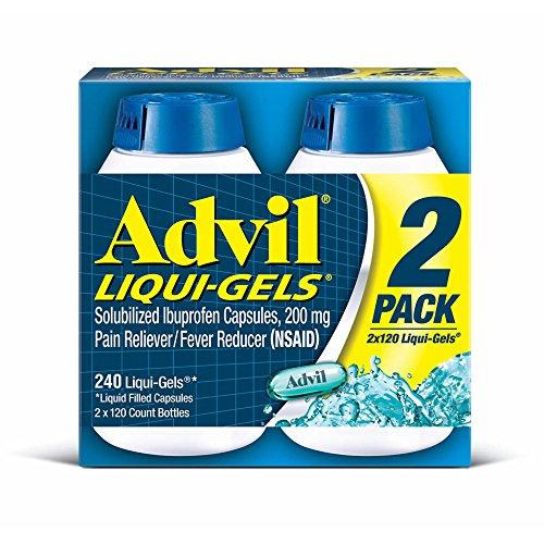 Advil Liqui-Gels, 2 pk./120 ct. (pack of 6) by Advil
