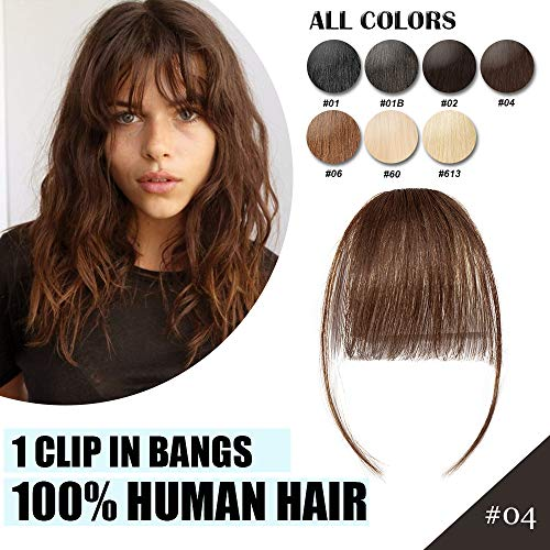 side bangs hair extensions - 4