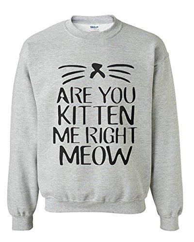 Kitten Crew Neck Sweatshirt - 5
