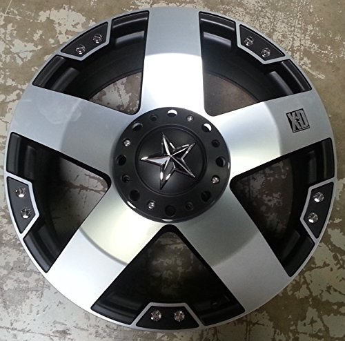 XD Series by KMC Wheels XD775 Rockstar Matte Black for sale  Delivered anywhere in USA