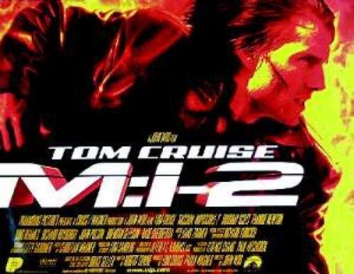 Cruise Quad - Mission: Impossible II 30X40 UK Quad Tom Cruise Poster