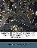 Indien und Seine Regierung, Leopold von Orlich and Karl Böttger, 1272457494