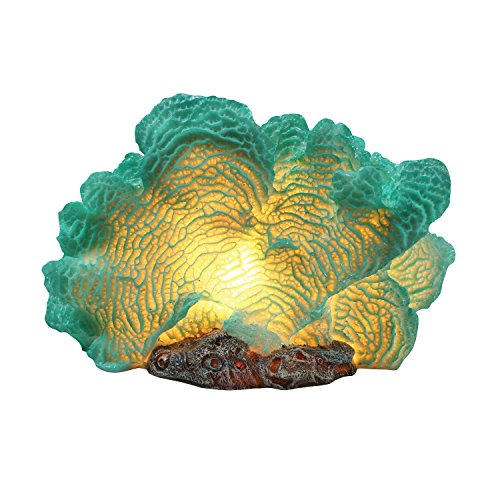 Price comparison product image What on Earth Sea Coral Shaped Lamp - Sculpted Resin Accent Light