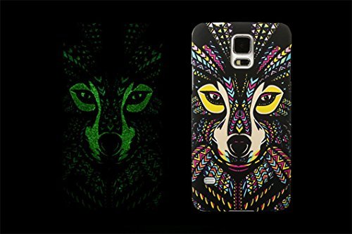 borch-fashion-luminous-series-the-king-of-beasts-deep-forest-phone-protective-shell-for-samsung-gala
