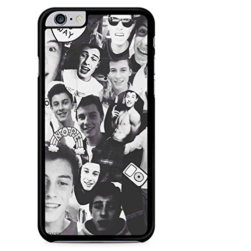 Coque,Shawn Mendes Noir And blanc Collage Case Coque iphone 7,Cas De Téléphone
