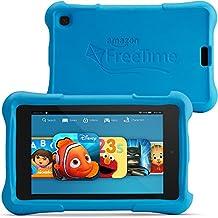 """Fire HD 6 Kids Edition Tablet, 6"""" HD Display, Wi-Fi, 16 GB, Blue Kid-Proof Case"""