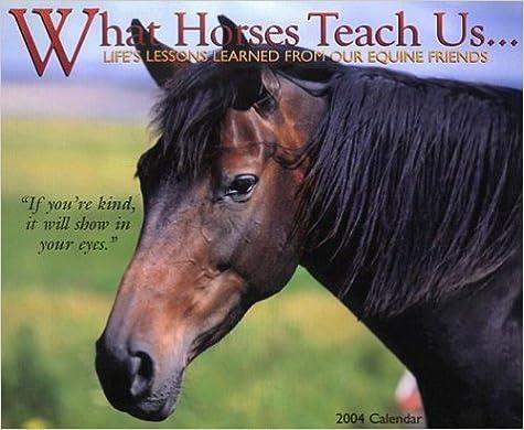 What Horses Teach Us