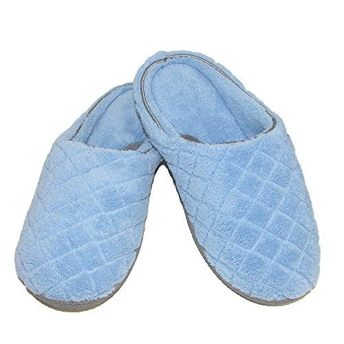 dearfoams-womens-quilted-microfiber-terry-clog-slipper-large-iceberg-blue