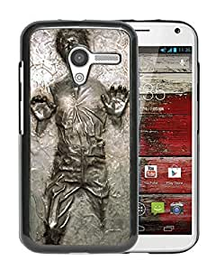 Fashionable And Nice Designed Case With Han Solo Frozen in Carbonite Black For Motorola Moto X Phone Case