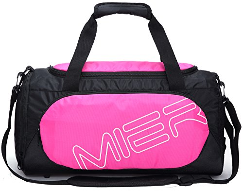 MIER Small Gym Sports Bag for Men and Women with Shoes Compartment, 18inch – DiZiSports Store