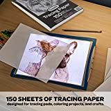 """Crayola Tracing Paper 8 1/2"""" X 11"""", Great for"""