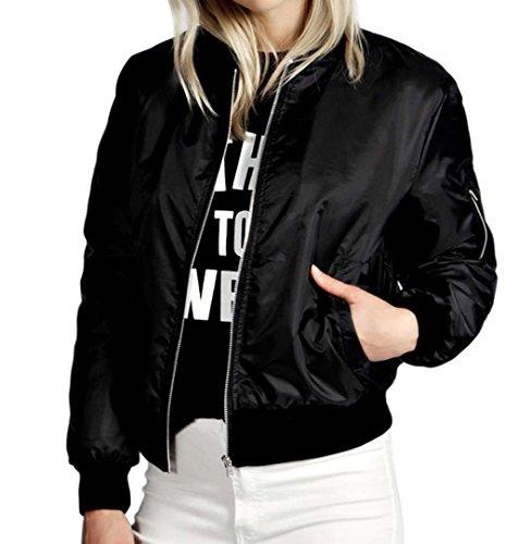 Las de la de Motorista Nuevas Chaquetas Adelgazan Cortocircuito Motocicleta Blazer Abrigos Negro Tops la Mujeres Soft Chaqueta de Jacket la Cremallera rwXvrqntx