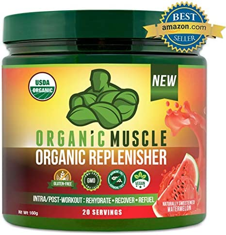 Certified Organic Replenisher Electrolyte Intra Workout product image