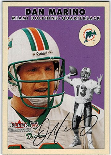 2000 Fleer Tradition Miami Dolphins Team Set with Dan Marino & Thurman Thomas - 13 NFL Cards